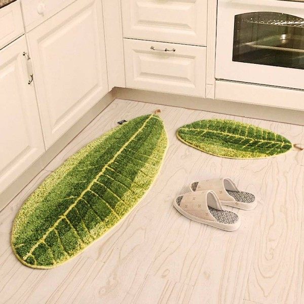 118*45CM NEW Fresh Mats Carpet Oval Shape Carpets Bathroom Absorbent Mat