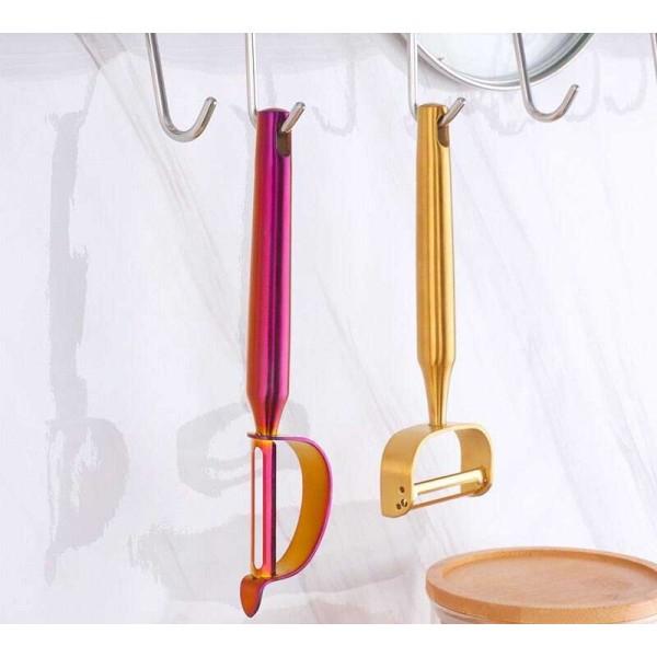 1 Pcs Stainless Steel Peeler Multifunctional Vegetable Fruit Sharp Cutter Potato Carrot Kitchen Tools Gadgets Accessories