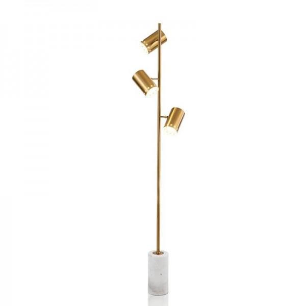 Nordic Simple Floor lamps Designer Metal Marble Living room Bedroom Standing lamp Iron lustre Lighting fixture