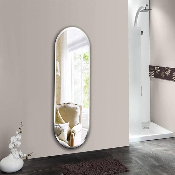 A1 Bathroom mirror wall hanging bathroom bedroom makeup mirror wall hanging explosion-proof mirror wx8221917