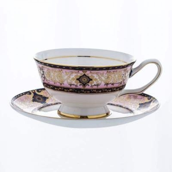 Advanced Bone Porcelain Tea Cups and Saucers Sets Ceramic Coffee Cups