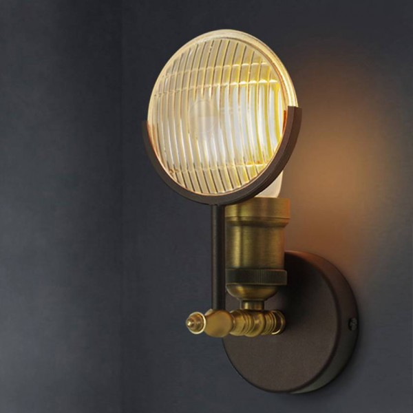 Luxury American Creative Retro Wall Light Classic Car Light Shape Industrial Wall Sconce Lamp Bedroom Bedside Aisle Lighting Luminaires American Creative Retro Wall Light Classic Car Light Shape Industrial Wall Sconce Lamp Bedroom