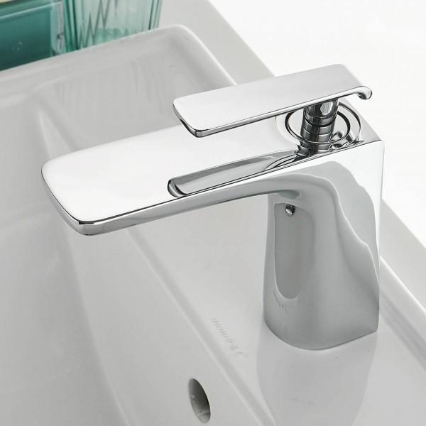 Basin Faucet Black Faucet Taps Bathroom Sink Faucet Single Handle Hole Deck Vintage Wash Hot Cold Mixer Tap Crane 855732
