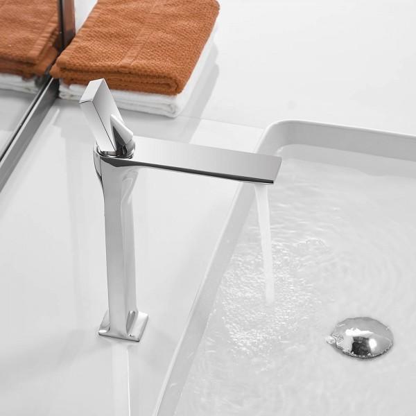 Basin Faucet White Faucet Basin Taps Bathroom Sink Faucet Single Handle Hole Deck Vintage Wash Hot Cold Mixer Tap Crane 855003