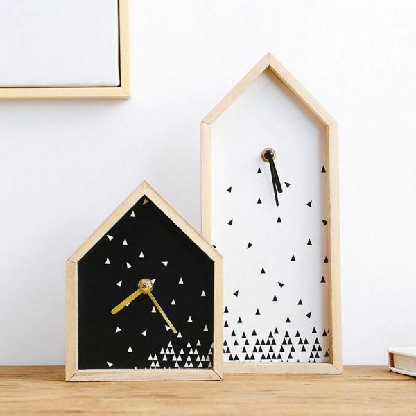 best selling products Modern Simple Clock Decoration Creative Bedroom Desktop Nordic TV Cabinet Clock Pendulum