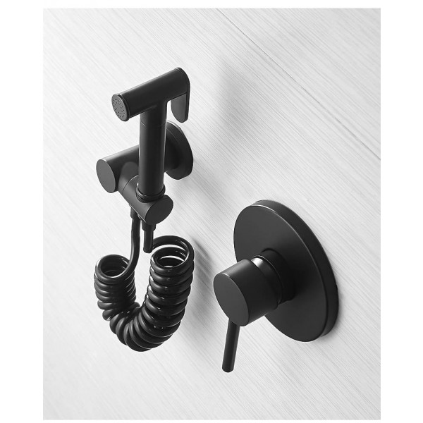 Bidets Single Cold Angle Copper Bathroom Toilet Shower Blow-fed Spray Gun Nozzle Bidet Faucet Garden Use Car Wash 811356
