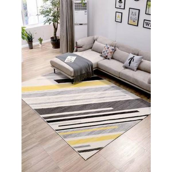 Carpet living room imported Nordic geometric sofa coffee table pad home modern minimalist bedroom full bed bed blanket