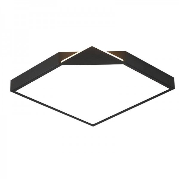 Ceiling lights Acrylic lampshade with black or white body for living room sitting room bedroom home decorative lamparas de techo
