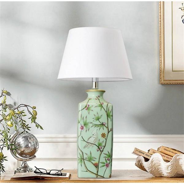 Ceramic LED Table Lamps Decoration Table Lights Bedroom Bedside Lighting Reading Desk Lamps Living Room Hotel Rooms Desk