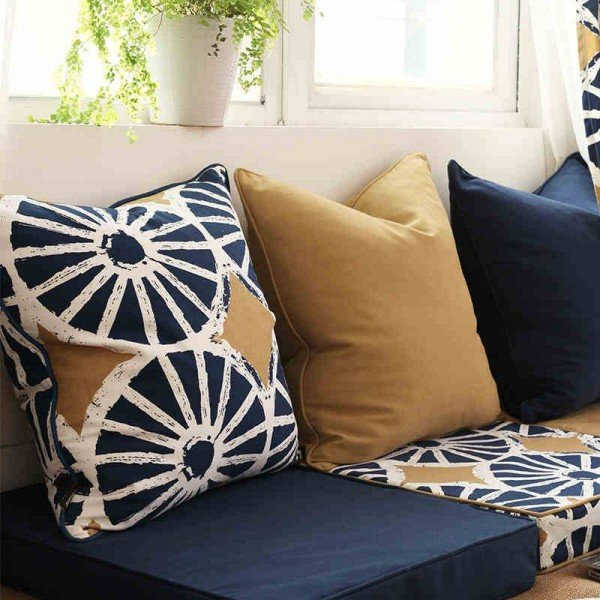 Christmas Luxury American Cushion Cover Art Bohemia Circle Solid Thicken Decorative Throw Pillow Covers Cojines Coussin Almofada