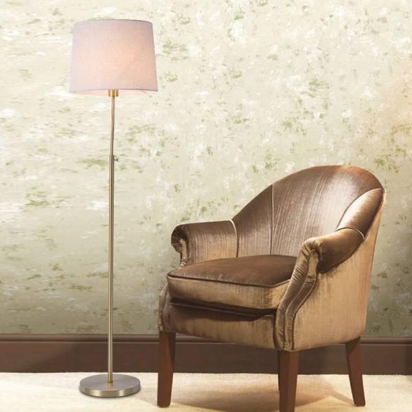 Classic Copper Floor Lamp Modern Office Desk Bedroom Adjustable Direction Standing Lamp simple white Home Lighting
