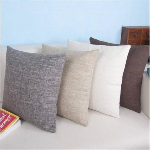 Classic Pillow Cushion Sofa Solid Cushions Luxury Bedside Coreless Quality Assurance Cojines,33x50/45x45/60x60cm