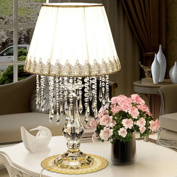 Crystal wedding table decoration lamps Led kitchen table light halloween manicure touch table lamp Christmas decoration lights