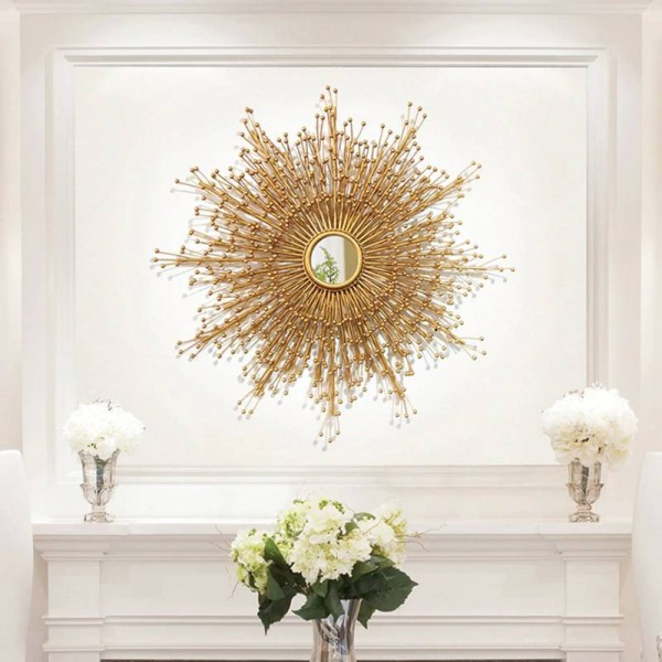 Luxury Custom Metal Living Room Wall