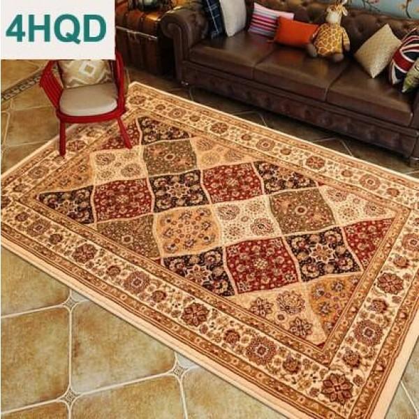 European-American American living room sofa coffee table carpet classical carpet bedroom bedside blanket