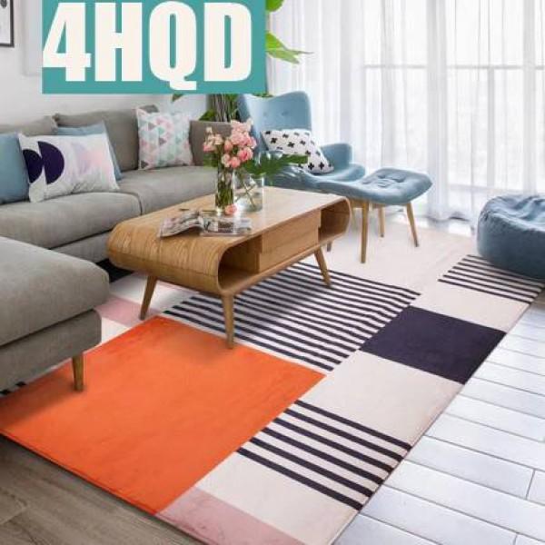 European modern minimalist blanket living room coffee mat mat bedside blanket bedroom full floor Nordic home mats