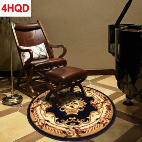European round carpet computer chair swivel floor mat modern minimalist bedroom coffee table carpet American