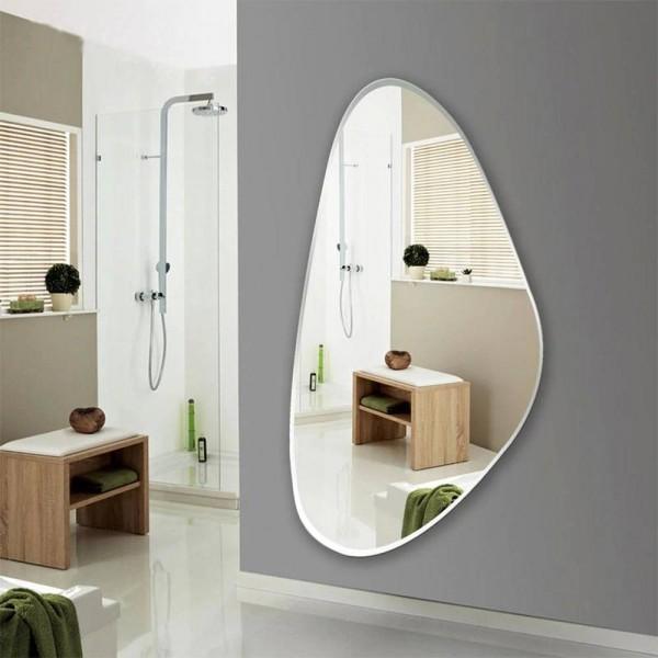 Frameless fitting mirror bedroom decoration mirror wall hanging full-length mirror entrance floor mirror wx8231137