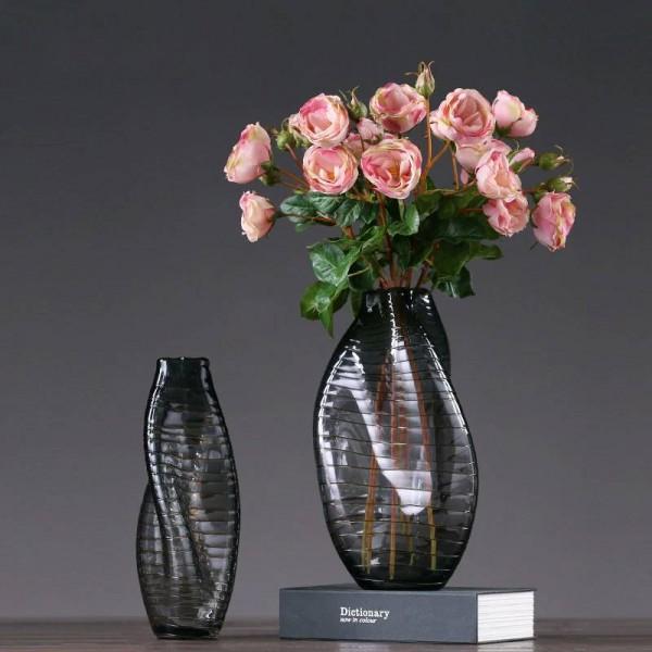 Glass Vase Decoration Hand-shaped Glass Decoration Home Decoration Flower Arrangement