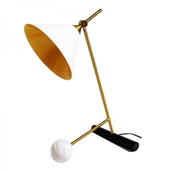 Hot New Simple Postmodern Style Table Lamp marble Ball Lamp Lampen Table Light Deco Lampe Post Modern Lights Nordic Lighting