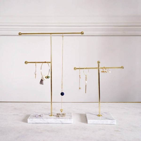 Jewelry Organizer Tray Home Decor Show Shelf Jewelry Storage Figurine Gift