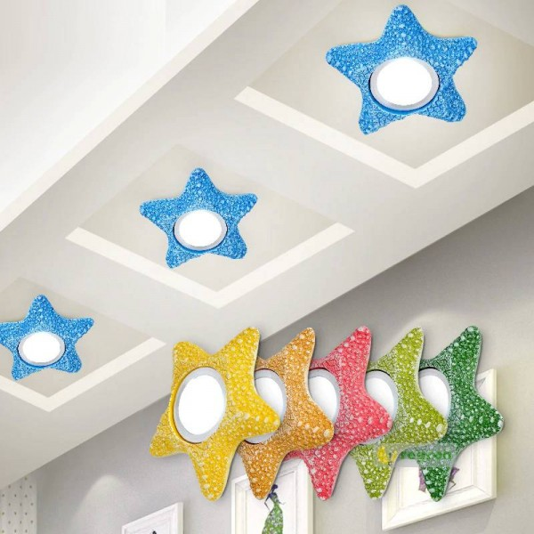 Luxury Kid S Bedroom Led Star Ceiling Lights Embedded Children S Room Star Lamp Bedroom Aisle Lamp Living Room Porch Led Ceiling Lamp Kid S Bedroom Led Star Ceiling Lights Embedded Children S Room Star Lamp Bedroom