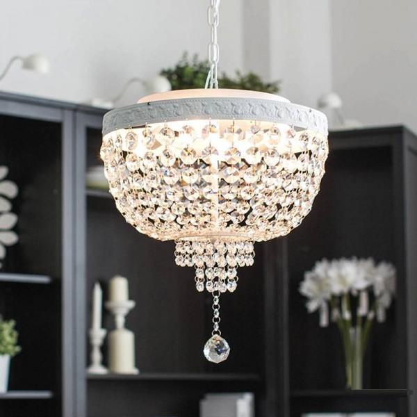 Led Sespended Crystal Chandelier Modern Crystal Chandelier Simple Ceiling fixtures Crystal Pendant Living Room Lamps Led Lamps
