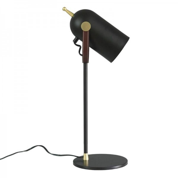 Modern Desk Lamps black shade nordic gold metal body contemporay table lamp For Bedroom Reading Lamp sitting room E27 LED lamp