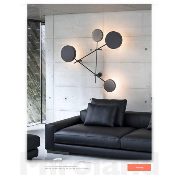 Modern Light Novelty Wall Lamp Creative Home Lighting Restaurant Fixtures LED Living Room Wall Sconces Iron Bedroom Wall Lights