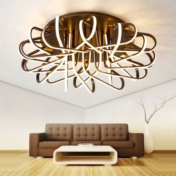 Modern living room Led Ceiling Lights for 10-15square meters indoor restaurant luminaires for remote control room