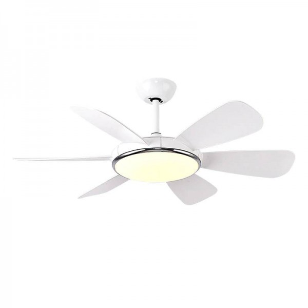 Modern Macaron LED Fan Chandelier light simple Living Room Restaurant Spiral Fan Lamp Coffee Shop Light kids room