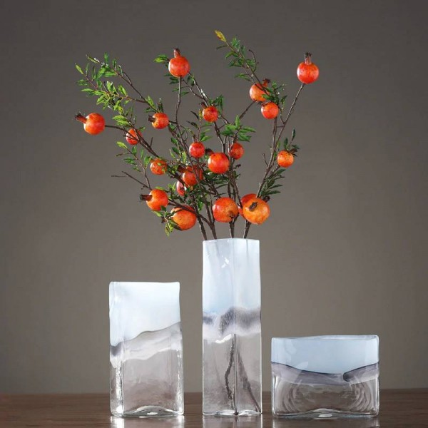 Modern Minimalist Hydroponic Glass Vase Creative Living Room Restaurant Flower Arrangement Sample Room Soft Decoration