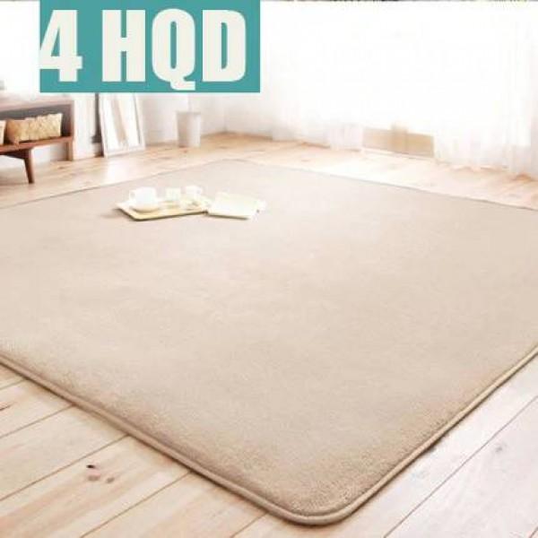 Modern simple full of coral velvet carpet bedroom bedroom bedside living room sofa coffee table carpet