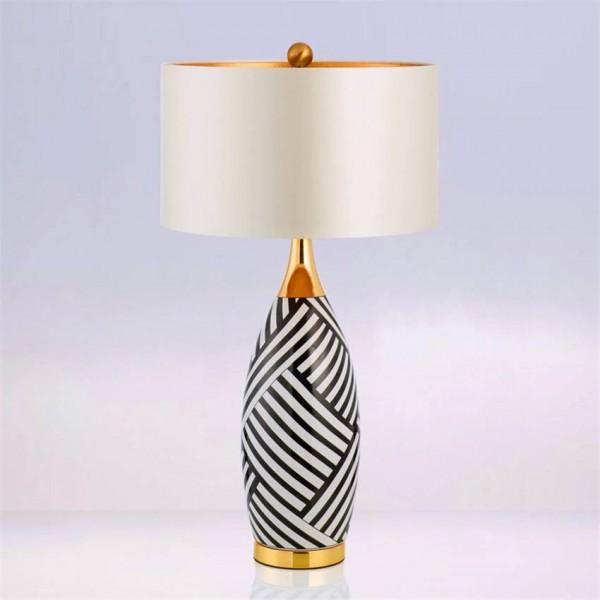 Nordic Ceramic Table Lights Bedroom Bedside Desk Lights Lighting Office Decoration Learn Read Table Lamp Desk Lamp Avize