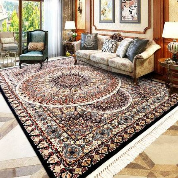 Nordic Palace European style American classical Persian carpet Turkish imported living room coffee table household rectangle