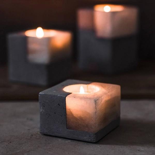 Original Ore European Candlestick Creative Nordic Aroma American Western Wedding Candle