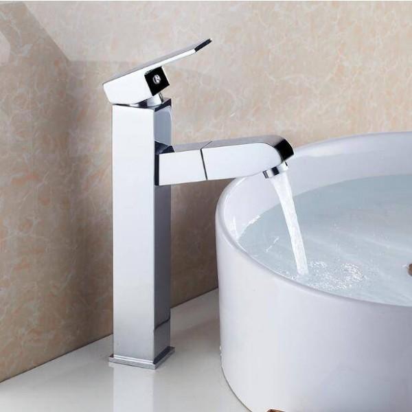 Chrome Basin Sink Tap Bathroom Faucet
