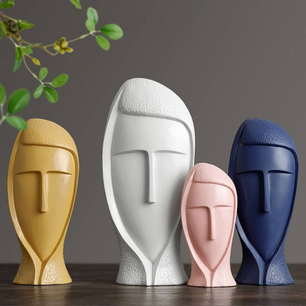Luxury Resin Statue Decorative Sculpture Modern Art For Home Decoration Accessories Crafts Creative Living Room House Figurines Decor Resin Statue Decorative Sculpture Modern Art For Home Decoration Accessories Crafts Creative Living Room House
