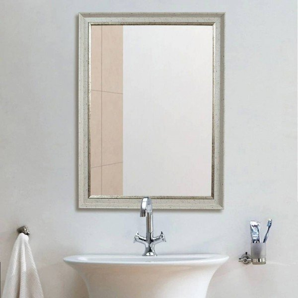 Retro bathroom mirror wall hanging living room bedroom makeup mirror restaurant hotel bathroom mirror wx8221522