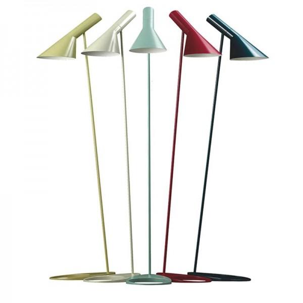 Simple colorful Floor Lamp Standing Light E27 LED Energy Saving Metal white black yellow colorful Floor Light for Living Room