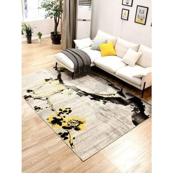Simple modern abstract geometric style living room coffee table bedroom carpet full bedside blanket home room carpet