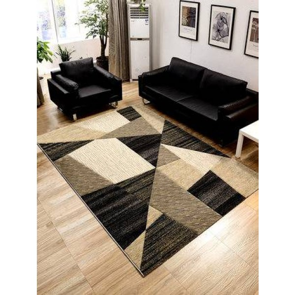 Simple modern living room coffee table bedroom carpet Nordic geometric full shop household bedside blanket coffee table pad thic