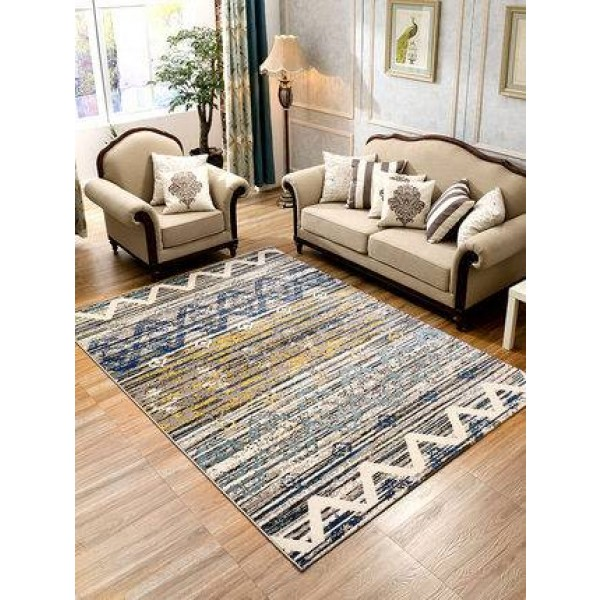 Simple modern Nordic geometric abstract living room table bedroom carpet wedding room full bedside blanket ins room blanke't