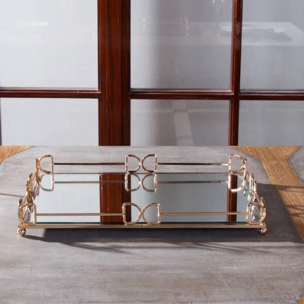 Simple Rectangular Tray Home Decor Desktop Tea Set Storage Tray Bathroom Cosmetic Tray