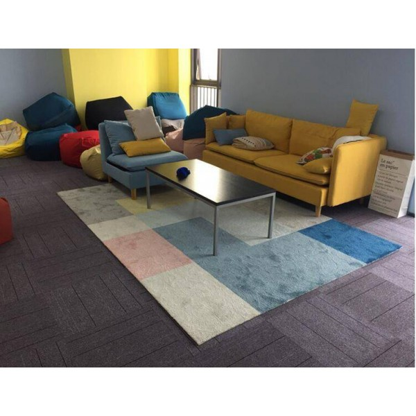 Super price promot Nordic style living room carpet coffee table small floor mat simple geometric bedroom children room carpet