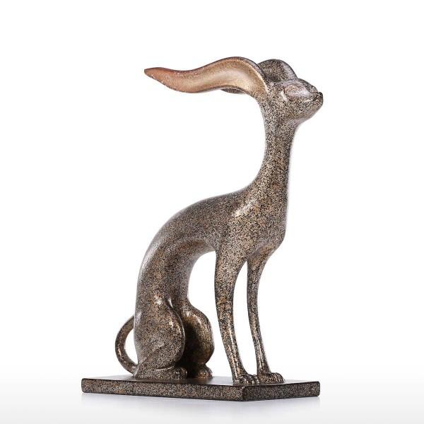Aluminum Animal Statue Mythological Animal Sculpture Contemporary Table Art Sculpture Home Decor Decoration Crafts