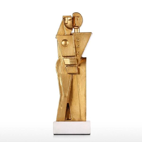 Sculpture Hug Abstract Statue Eternal Love Hug Statue Embrace Modern Art Home Office Bookshelf Desktop Decor