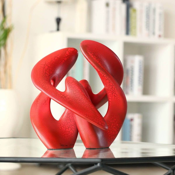 Statue Separation and Reunion Symmetric Construction Several Times Painting Abstract Crafts Sculptures for home