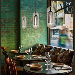Modern Glass Pendant Lamps American Loft Industrial Kitchen Dining Bar Pendant Lights Living Room Study Lighting Fixtures Avize