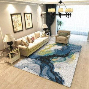 Nordic geometric modern minimalist living room coffee table bedroom carpet full bedside blanket home room rectangular mat